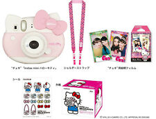 New FUJIFILM Hello Kitty Instant Camera Cheki instax mini intax Polaroid Japan
