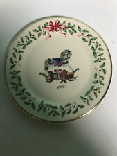 Lenox 1992 Annual Christmas Holiday Collector's Plate Rocking Horse Original Box