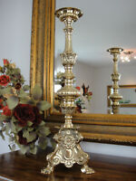 Kirchenleuchter Gold Antik Barock Kerzenleuchter Edel Kerzenhalter Kerzenständer