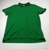 Nike Golf Tour Performance Mens Polo Shirt XL Extra Large Green Short Sleeve