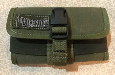 Maxpedition Hard-Use Gear Eyeglass Case Olive Drab Green Belt Attach Sunglasses
