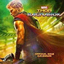 Thor Ragnarok Official 2018 Calendar Square Wall Format AC
