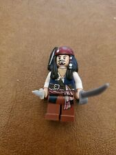 Captain Jack Sparrow 4192 4191 4183 Pirates of the Caribbean Lego MiniFigure