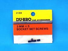 Du-bro 2169 Madenschrauben Inbus 3 mm X 5 (4) Socket Set Screws Modell