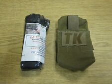 Small TK Coyote Pouch + Tourniquet General Purpose EMT GI US Made No Tag