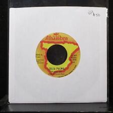 "Julia Palma - Huracan / Si Tu Quisieras 7"" VG+ Vinyl 45 Alhambra ST-293 USA 1983"