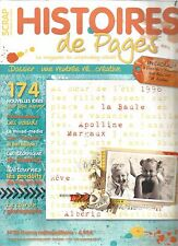 HISTOIRES DE PAGES N°59 RENTREE RE... CREATIVE / LES NOEUDS / TECHNIQUE LAYERING