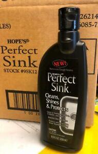 12 bottles x 8.5 fl oz Hope's Perfect Sink Cleaner & Polish (Lot of 12 bottles)
