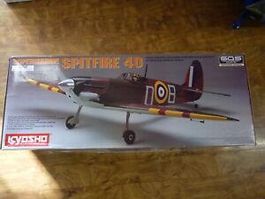 Kyosho Supermarine Spitfire 40 Radio Control Nitro 40 Size 1440MM ARF 11806 NIB