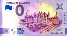 UE AR-3b / CHATEAU DE CHAMBORD / BILLET SOUVENIR 0 € / 0 EURO BANKNOTE 2020-3