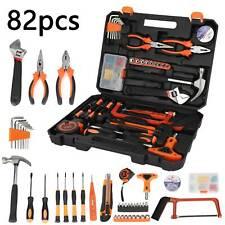 82 pcs Hardware Tool Kit Set Hand Tool Home Car Wrench Repair Daily Maintenance