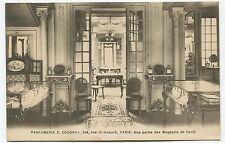 Parfumerie E. Coudray. Paris. Une Partie du Magasin de Vente