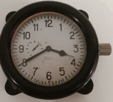 SOVIET USSR TANK PANEL CLOCK NO. 7823 MILITARY ARMY COCKPIT FOR  I-16 fighters