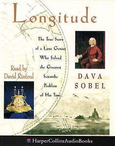 Longitude - Dava Sobel read by David Rintoul Cassette Tape set