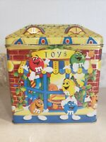 M&M's Limited Edition Christmas Village Candy Toy Shop tin 1996 Empty