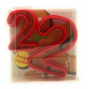 Two Digit Number Shaped Cookie Cutter set of 2, Biscuit, Pastry, Fondant Cutter