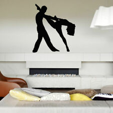 Wall Decal Sticker Bedroom couple dance tango beautiful melody concert bo2819
