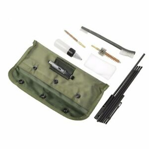 10PCs Tactical Airsoft Shortgun Brushes Cleaning Kit For .22 22LR .223 556