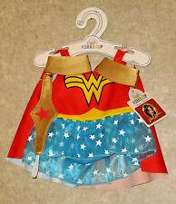 Build a Bear Wonder Woman Cape Costume Teddy Size 4pc Outfit Superhero Dc Comics