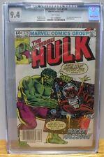 "1982 ""THE INCREDIBLE HULK"" #271 (1st app Rocket Raccoon) CGC 9.4  Marvel Comics"