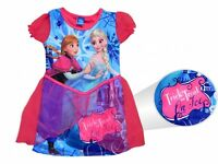 Disney Frozen Anna Elsa Halloween Fancy Dress Trick Treat Costume Brand New Gift