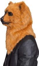 Maske Tiermaske Bär bewegliches Maul und leuchtende Augen