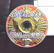WW1 GREAT WAR THE HIGHLAND LIGHT INFANTRY HISTORIES  JOURNALS  KINDLE ANDROID