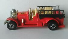 1980 MATCHBOX OLD NUMBER 5 RED FIREFIGHTERS DIECAST TRUCK