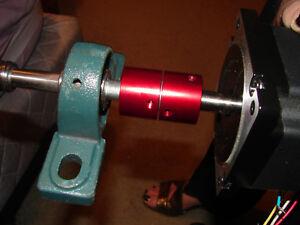 """CNC STEP SERVO MOTOR COUPLING DESIGNED 4 CNC FOR 5/16 X 3/8"""" SHAFTS LOW BACKLASH"""