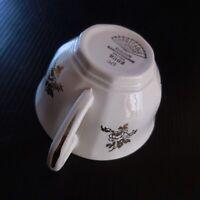 6 tasses faïence opaque fait main art nouveau DIGOIN Sarreguemines France N6942