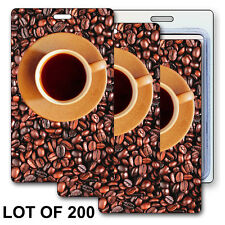 Luggage Bag Travel Tag Coffee Bean Brewing Animating Lenticular #LT01-240-S200#
