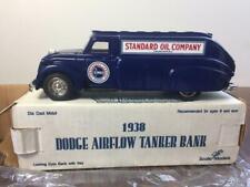 Vintage Ertl 1938 Dodge Airflow Tanker STANDARD OIL CO Diecast Truck Bank w/ Box