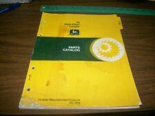John Deere 60 Skid-Steer Loader Parts Manual