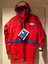 High Seas Foul Weather Gear Rubber Red Jacket Boating Gear XS, NWT, Jacket Only