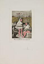 Salvador Dalí - Les Caprices de Goya de Dalí, #26, hand signed etching