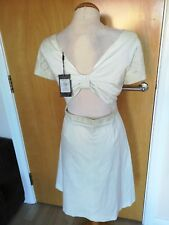 Ladies COAST Dress Size 18 Mint PORTIA Open Bow Detail Smart Party Evening