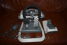XBOX 360 Wireless Racing Wheel With Force Feedback & Pedals/Clamp Used WRW01