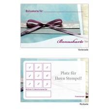 Neutrale Wellness Beauty etc. Bonuskarten Treuekarten Rabattkarten 100 Stück