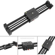 DSLR Camera Video Slider Dolly 50cm Track Rail Stabilizer 100cm Sliding Alloy