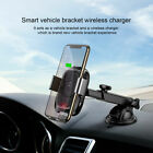 Car phone holder 10W wireless charger for mobile phones Suction Cup Mount Holder