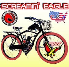 Powerful Diy 66cc/80cc 2-Stroke Motorized Bike Kit And Classic Cruiser Bicycle
