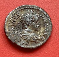 Monnaie Antique Caracalla Empereur Augustus 211-217 AD Rome - 3,1 Grs Denier ?