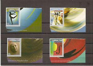 Gibraltar 2003 SG1041-4 4v set Poster Art