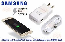 New OEM Samsung Adaptive Fast Charger & Cable for Samsung Galaxy S7 S6  NOTE 5 4