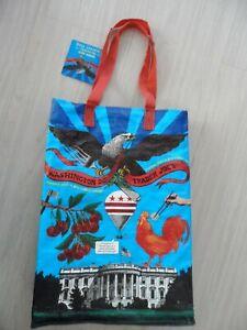 NEW! TRADER JOE'S Reusable Grocery Bag - WASHINGTON DC
