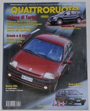 QUATTRORUOTE 5/1998 MERCEDES ML 320 – JEEP GRAND CHEROKEE 5.9 – FORD MONDEO V6