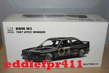 1/18 1987 BMW M3 COUPE JIM RICHARDS GROUP A ATCC WINNER JPS 3 AUSTRALIAN TOURING