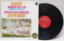MOZART SERENADE IN D 320 MARCHES 335 1&2 VINYL LP EDO DE WAART VINYL LP IMPORT