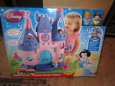 Fisher Price Little People Disney Princess Songs Palace castle sounds Snow White