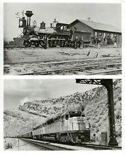 Contrast-Original Union Pacific Locomotive And Modern
